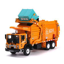 100 Rubbish Truck Amazoncom Garbage Toy Model 143 Scale Metal Diecast