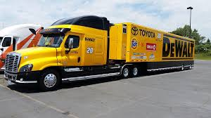 Freightliner, NASCAR, Hauler, DeWalt, Gibbs Racing, Transporter ... Nascar Camping World Truck Series Wikiwand 2018 Paint Schemes Team 3 Jayskis Silly Season Site Stewarthaas Racing On Nascar Trucks And Sprint Cup Bojangles Southern 500 September 2017 Trevor Bayne Will Start 92 Pin By Theresa Hawes Kasey Kahne 95 Pinterest Ken Bouchard 1997 Craftsman Truck Series 17 Paul Menard Hauler Menard V E Yarbrough Mike Skinner