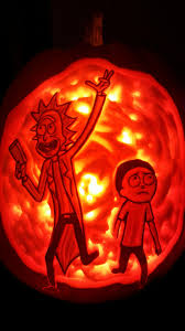 Jack And Sally Pumpkin Stencil Free by Pumpkin Carving Ideas Rick And Morty Halloween Radio Site