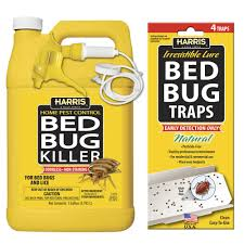Harris 1 gal Bed Bug Killer and Bed Bug Trap Value Pack HBB 128VP
