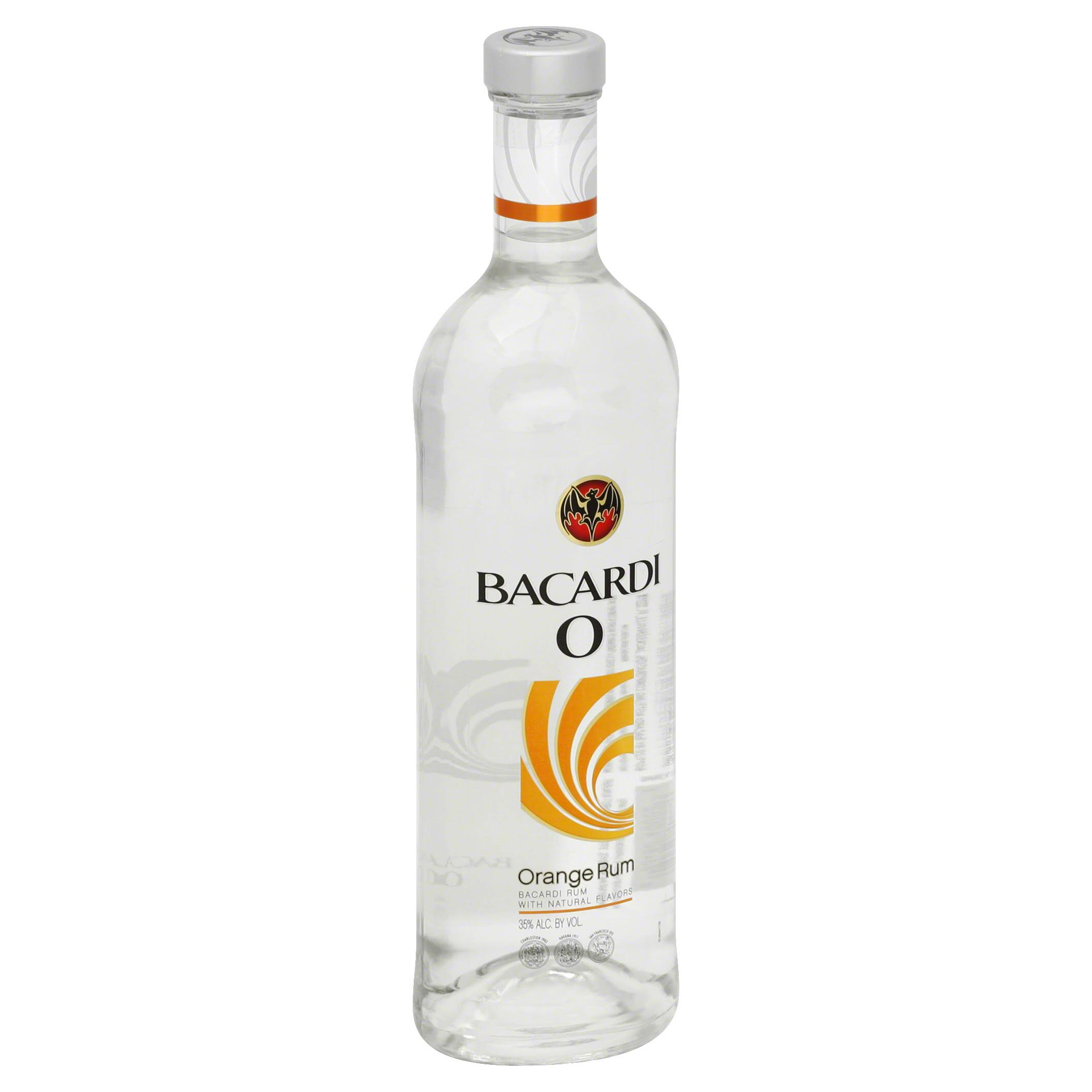 Bacardi O Rum, Orange - 750 ml