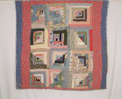 American Antique Log Cabin Quilts Betsey Telford Goodwin s Rocky