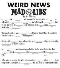 Halloween Mad Libs Free by 29 Best Madlibs Images On Pinterest Bridal Showers Dementia And