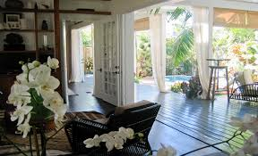 amazing deck patio with pool outdoor curtains and bamboo roman