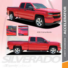 100 Truck Decals And Graphics Vinyl For Chevy Silverado ACCELERATOR 3M 20142018