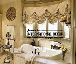 Design Bathroom Window Curtains by Royal White Curtains With Luxury Valance Design Ideas Curtain