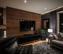 Creative Wall Design Wood Paneling Interior Decoration Ideas Horizontal
