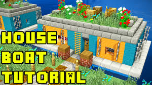 Minecraft Kitchen Ideas Ps4 by Minecraft Survival House Boat In Amsterdam Tutorial Xbox Pe Pc