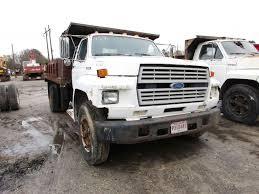 100 5 Axle Dump Truck 1989 FORD F700 VIN1FDNF7DK9KVA0763 Single 429 Gas