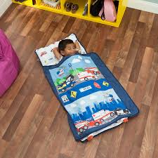 100 Fire Truck Sleeping Bag Amazoncom Everyday Kids Toddler Nap Mat With Removable Pillow