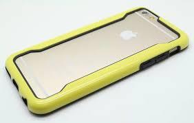 Silicone Core iPhone 6 Bumper Yellow