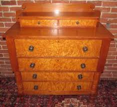 extraordinary solid birds eye maple sheraton dresser the boldest