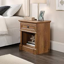 Sauder Shoal Creek Dresser Soft White by Sauder Shoal Creek 1 Drawer Oiled Oak Nightstand 410412 The Home