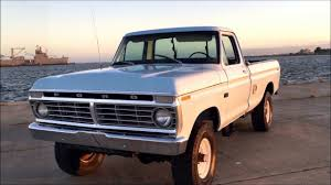 100 Highboy Truck 1973 Ford F250 4X4 In Storage For Over 20 Years YouTube