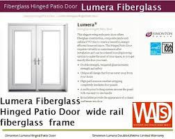 Simonton Patio Doors 6100 by Simonton Patio Door Packages U2014 Windows And Doors Made Simple