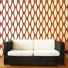 Wall Stencils For Painting Beaded Pattern Stencil Contemporary Patterns