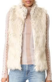 9 best faux fur vests for winter 2017 faux fur and shearling vests