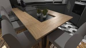 cuisine grise plan de travail bois cuisine gris anthracite et bois amazing cuisine gris anthracite et