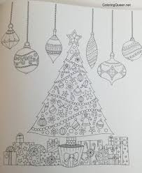Johannas Christmas A Festive Colouring Book UK Edition