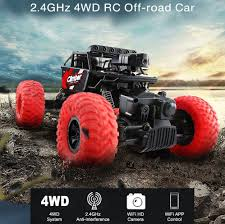 RC Truck 2.4GHz 4WD RC Off-Road With 480P Camera And WiFi FPV APP ... Ecx 118 Ruckus 4wd Monster Truck Rtr Orangeyellow Horizon Hobby Hot Seller Jjrc Rc Q61 24g Powerful Engine Remote Control 24ghz Offroad With 480p Camera And Wifi Fpv App Amazoncom Carsbabrit F9 24 Ghz High Speed 50kmh Force 18 Epidemic Brushless Jual Mobil Wl A979 1 Banding Skala 2 4gh 2018 New Wpl C14 116 2ch 4wd Children Off Road Zd Racing 110 Big Foot Splashproof 45a Hnr Mars Pro H9801 Rc Car 80a Esc Motor Buy 16421 V2 Offroad In Stock 2ch Electric 112 4x4 6 Wheel Drive Truk Tingkat
