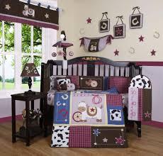 Geenny Crib Bedding by Geenny Horse Western Cowgirl 13pcs Crib Bedding Set Baby Baby