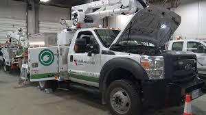 100 Green Trucks MidAmerican Unveils New Powered Service Vehicle Whotvcom