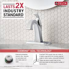 Delta Dryden Faucet Stainless by Delta Faucet 551 Dst Dryden Polished Chrome One Handle Bathroom