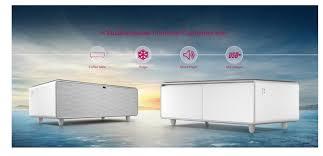 smart multi funktion couchtisch smart minibar kühlschrank