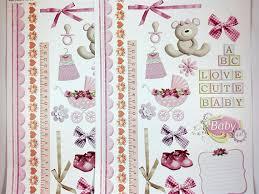 Designer Paper Cute Baby Craft Scrapbooking