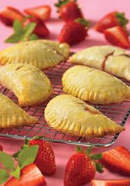 Strawberry Basil Mini Pies