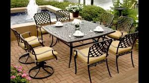 Sams Patio Dining Sets by Agio Patio Furniture Ideas Youtube