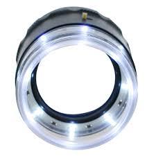Magnifier Lamp 10x Magnification magnifier 10x 25mm loupe interchangeable reticle scale 0 20mm