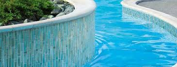 How to Use Glass Pool Tile Outside