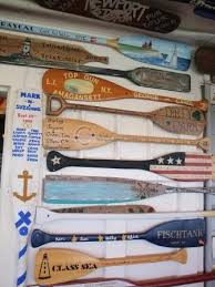 decorative oars and paddles collection of oars on the wall the oar restaurant on block