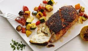cuisine plancha crusted fish and ratatouille a la plancha recipe by pauline lacsamana