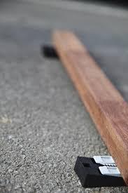 poser une terrasse en bois sur une dalle en béton terrasse bois