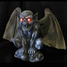 Scary Halloween Props For Haunted House by Http Www Ebay Com Itm Gothic Gargoyle Bat Lighted Eyes Scary
