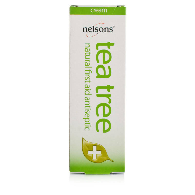 Nelsons Tea Tree Antiseptic Cream - 30ml