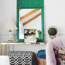 Colors For A Small Living Room by 10 Sneaky Ways To Make A Small Space Look Bigger The Everygirl