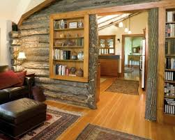 Log Cabin Houzz Photos 77340 Rustic BookcaseBookcase Wall Bookshelf IdeasBook