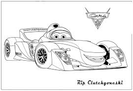 Image Of Lightning Mcqueen Coloring Pages Printable