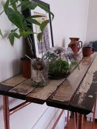 Make A Reclaimed Wood Desk by Make A Reclaimed Wood Table Diy Mother Earth News