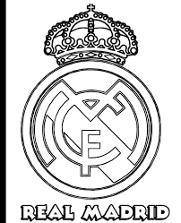 Coloring Page Real Madrid