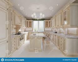 100 Interior Design Marble Flooring Finished Project Of Classic Kitchen With Wooden Details And