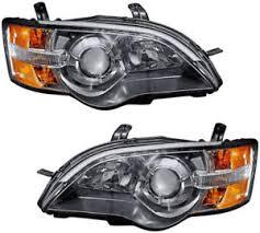 headlights headlight assembly w bulb new pair set for 2005 subaru