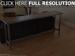 Narrow Sofa Table With Drawers by Furniture Small Console Table With Shelf Couch Table 5 Foot Long