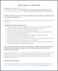 Summary For Resume With No Experience Awesome Best Examples Of Resumes Example Objectives Sample