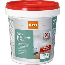 obi anti schimmel farbe weiß 750 ml