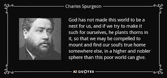 Re Charles H Spurgeon
