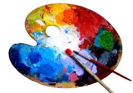 Kidney Shaped Artist Palette